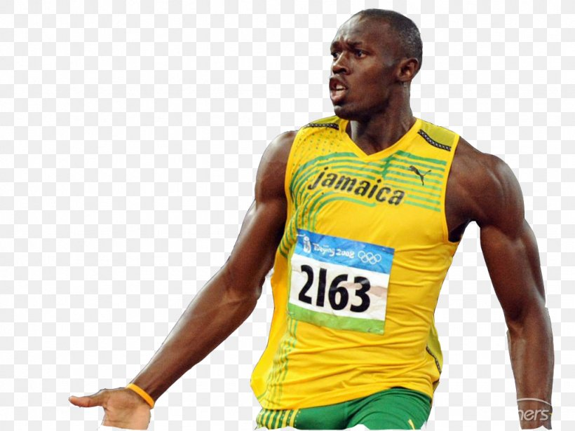 Usain Bolt 2016 Summer Olympics Sprint 2012 Summer Olympics 2015 Special Olympics World Summer Games, PNG, 1024x768px, 100 Metres, 200 Metres, Usain Bolt, Athlete, Athletics Download Free