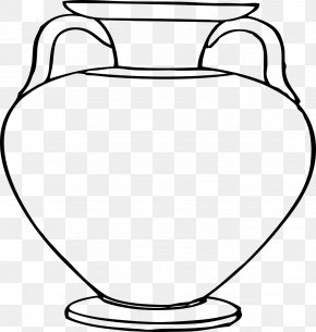 Greece - Pottery Of Ancient Greece Vase Clip Art PNG