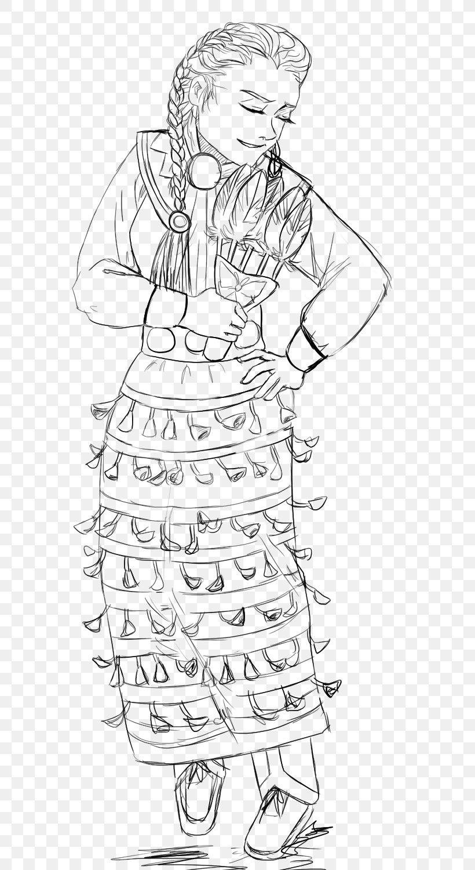 Pow Wow Jingle Dress Dance Drawing Sketch Png 800x1500px Pow Wow Adult Arm Art Artwork Download