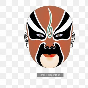 Peking Opera Hijacked One Hundred Wei Ling Tong Camp - Beijing Mask Peking Opera Chinese Opera PNG