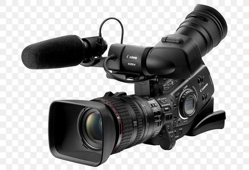 Professional Video Camera High-definition Video Camcorder, PNG, 700x559px, Digital Video, Camera, Camera Accessory, Camera Lens, Cameras Optics Download Free