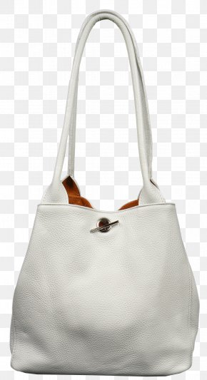 Italy - Hobo Bag Tote Bag Leather White Italy PNG