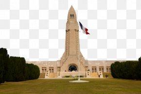 France Verdun Memorial Cemetery Three - Verdun Landmark Monument Memorial PNG