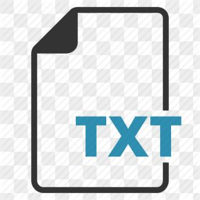 Txt File Transparent - Text File Document File Format Computer File PNG