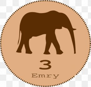 Elephant Clip Art - Asian Elephant Silhouette Elephantidae Clip Art PNG