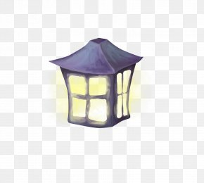 Street Light - Nightlight Lighting Light Fixture Oil Lamp Street Light PNG
