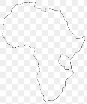 Africa Cliparts - Black And White Angle Point Pattern PNG