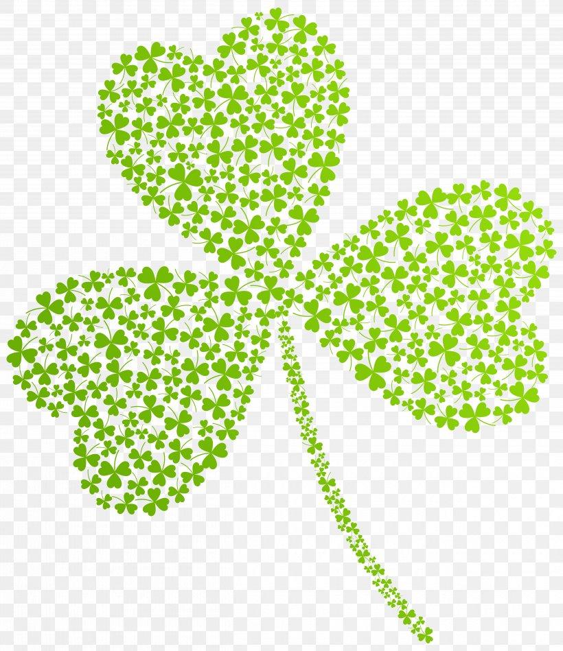 Saint Patrick's Day St. Patrick's Day Shamrocks Clip Art, PNG, 5000x5788px, Saint Patrick S Day, Area, Clover, Flora, Four Leaf Clover Download Free