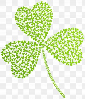 St Patricks Day Shamrock Transparent PNG Clip Art Image - Saint Patrick's Day St. Patrick's Day Shamrocks Clip Art PNG