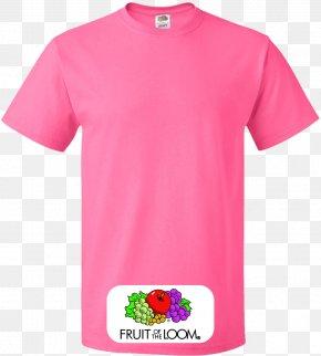 T-shirt - T-shirt Pink Clothing Sleeve PNG