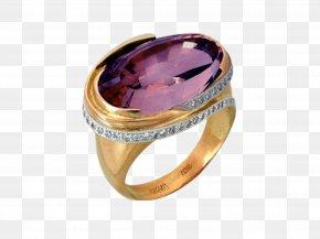 Gemstone Rings - Amethyst Jewellery Ring Gemstone Diamond PNG