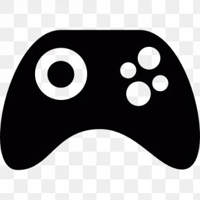 Controller - Black Joystick PlayStation 3 Game Controllers PNG