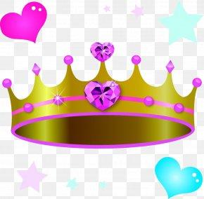 Hearts Pentagram Crown Photos - Crown Gemstone Clip Art PNG