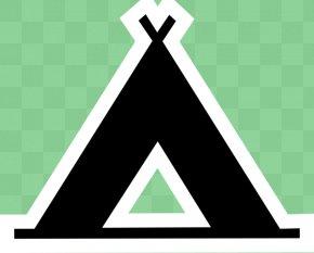 Map Camp Cliparts - Camping Campsite Map Symbolization Clip Art PNG