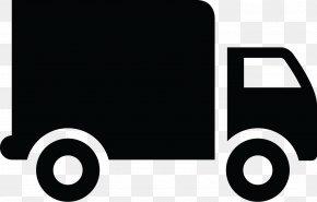 Vector Truck Drawing - Pickup Truck Van Car Mover PNG