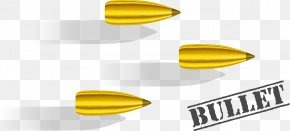 Bullets Fired Weapons Vector - Bullet Cartridge Clip Art PNG