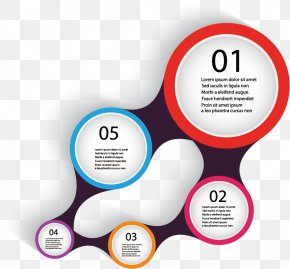 Vector Circle Graph - Infographic Graphic Design Page Layout Diagram PNG