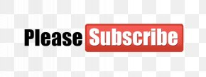 Subscribe Button - Image Logo YouTube Watermark PNG