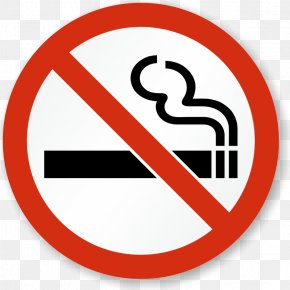 No Smoking - Smoking Ban Sticker Decal Smoking Cessation PNG