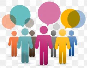 Social Media - Social Media Speech Clip Art Image PNG