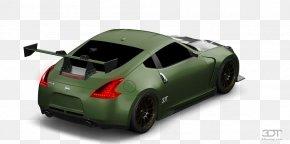 Car - Bumper Car Nissan 370Z Automotive Design Luxury Vehicle PNG