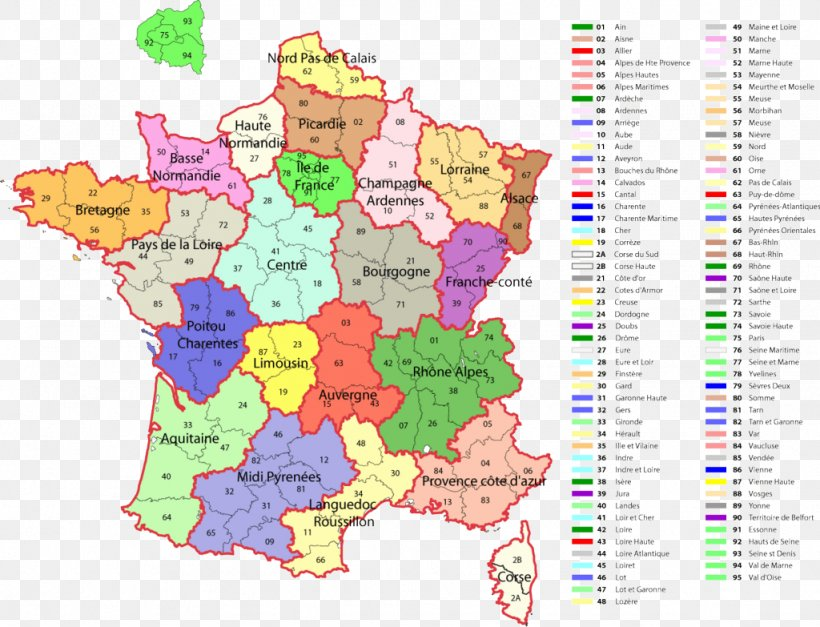 Map Of France Areas.Departments Of France Regions Of France Map Png 1024x783px