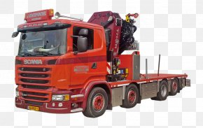 Car - Model Car Scania AB Truck Crane PNG