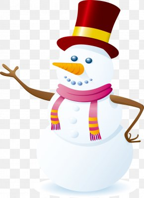 Christmas Snowman Waving - Snowman Royalty-free Stock Photography Clip Art PNG