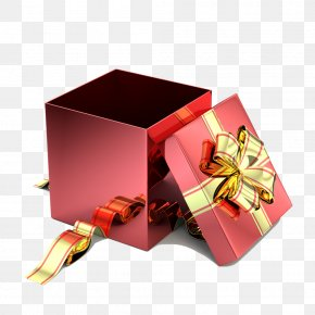 Open The Gift Box - Paper Decorative Box Gift Stock Photography PNG