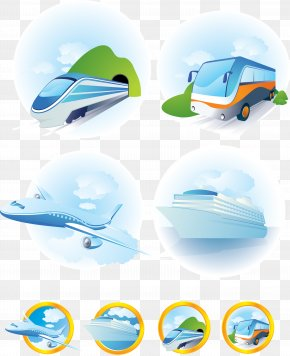 Vector Material Travel Travel Tools - Train Mode Of Transport Clip Art PNG
