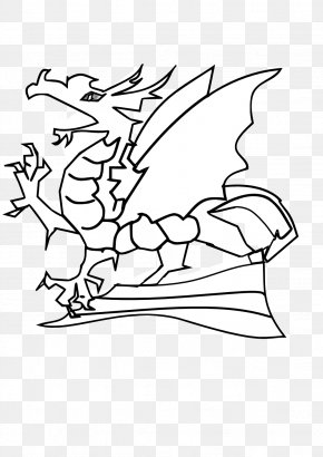 Cute Baby Dragon Pictures - Dragon Black And White Clip Art PNG