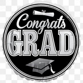Party - Graduation Ceremony Graduate University Party Balloon Square Academic Cap PNG