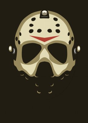 Anonymous Mask - Jason Voorhees Logo Goaltender Mask Protective Gear In Sports PNG