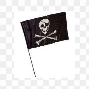 Flag - Jolly Roger Piracy Fahne Flag Totenkopf PNG
