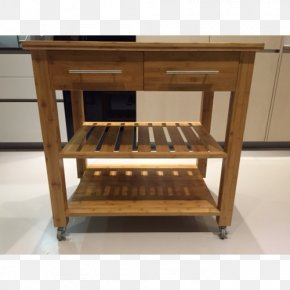 Table - Table Butcher Block Kitchen Countertop Drawer PNG