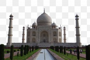 Taj Mahal - Taj Mahal Mehtab Bagh New7Wonders Of The World Travel Monument PNG