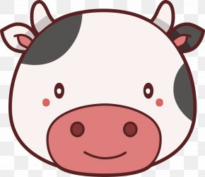 Lovely Little Cow - Cattle Cow Goat Clip Art PNG