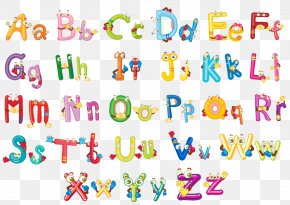 Wall Decal - English Alphabet Letter Case Wall Decal PNG