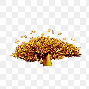 Golden Tree - Tree Download Computer File PNG