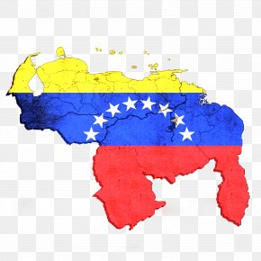 Map - Map State Of Venezuela Yaracuy Geography Flag Of Venezuela PNG