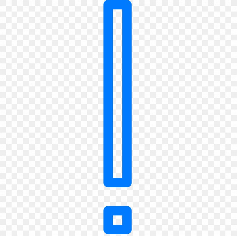 Exclamation Mark Pixel Icon, PNG, 1600x1600px, Exclamation Mark, Area, Blue, Brand, Ecphonesis Download Free
