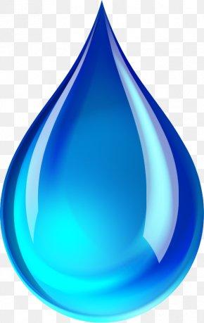 Blue Water Drop - Drop Water Ionizer Plumbing PNG