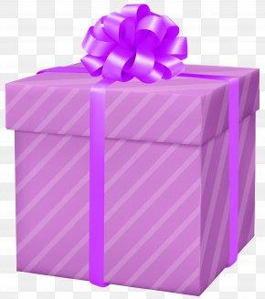 Pink Gift Box Clip Art Image - Gift Box Clip Art PNG