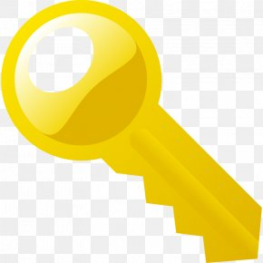 A Picture Of A Key - Key Lock Download PNG