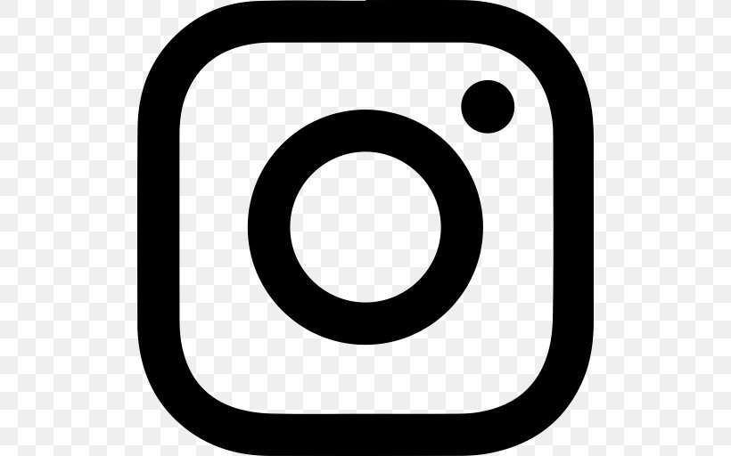 Instagram Logo Clip Art, PNG, 512x512px, Instagram, Area, Black And White, Facebook, Internet Group Download Free