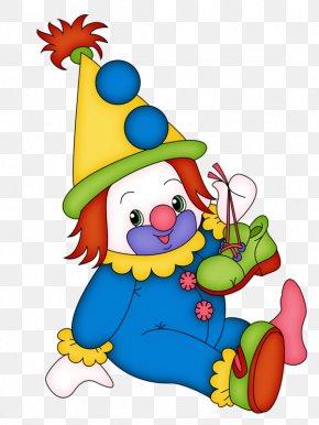 Hand-painted Clown - Joker Clown Circus Clip Art PNG