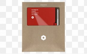 Notebook - Red Grey Notebook Pen Caran D'Ache PNG