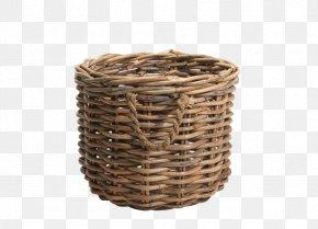 Rattan Vector - Wicker Basket Rattan PNG