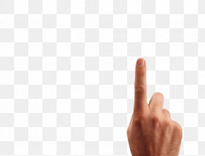 Finger Image - Thumb Font Design Product PNG