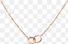 Gold Chain - Earring Necklace Cartier Jewellery Love Bracelet PNG